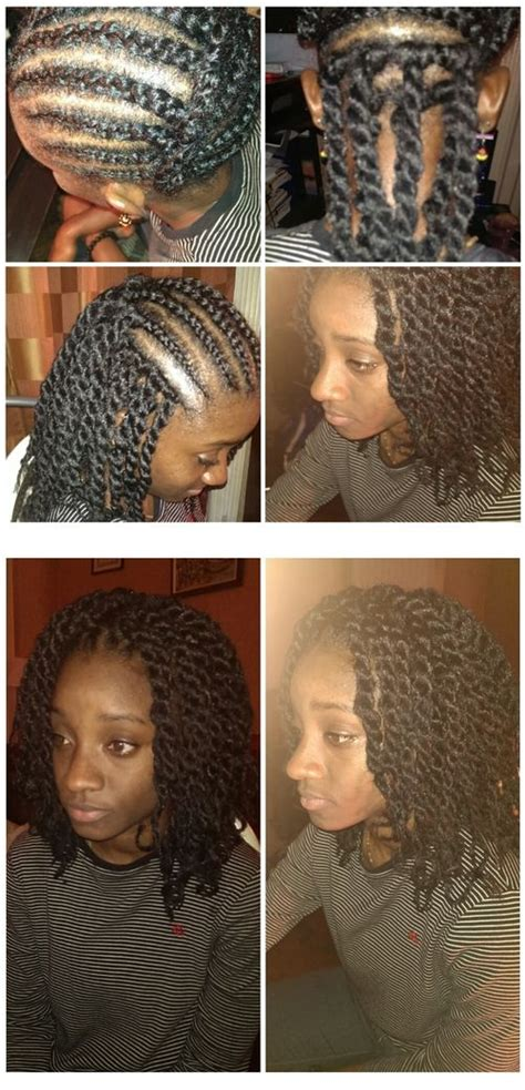pretwisted marley hair crocheted marley twists crochet braids with marley hair