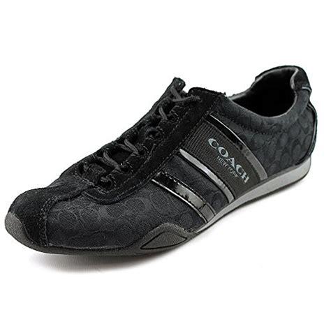 coach remonna sneaker black coach remonna signature fashion sneaker black s 7 5