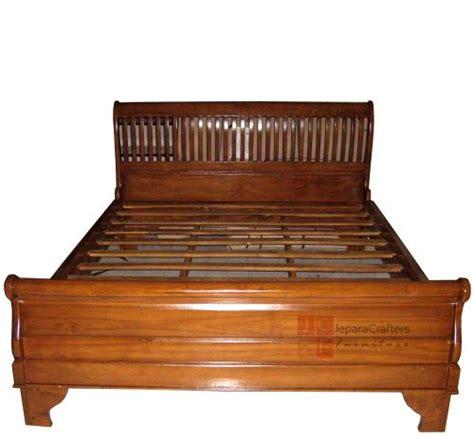 solid teak bedroom furniture solid teak wood sleigh bed bedroom furniture indonesia