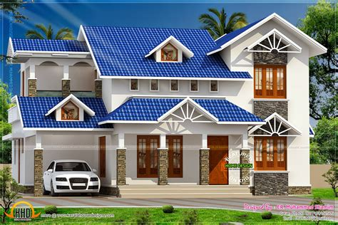 Awesome Design For House Plan #4: Flat-roof-house-designs-concrete-design-ideas-trends-sloping-lrg-da-cd.jpg