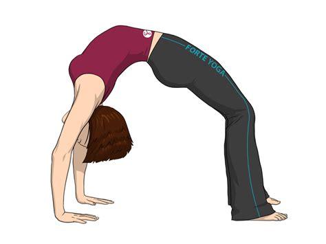 upward bow yoga pose or wheel pose forte yoga - Upward Bow Pose