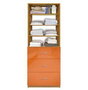 isa custom closet system 3 drawers adjustable