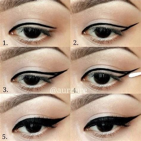 eye makeup tutorial no eyeliner useful how to draw perfect eye liners pretty designs