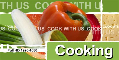 Cooking Show Template Cooking Show Tv Package Openers Free After