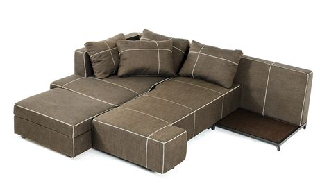 Modern Sectional Sofas With Chaise Camden Modern Fabric Sectional Sofa W Chaise