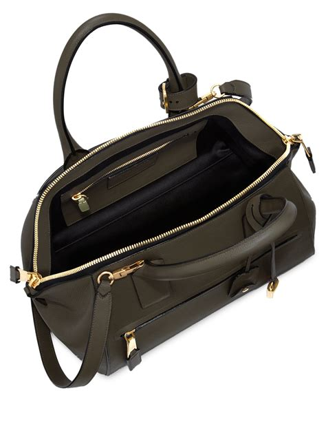 Marc Two Pocket Handbag by Lyst Marc Incognito Small Smooth Leather Top