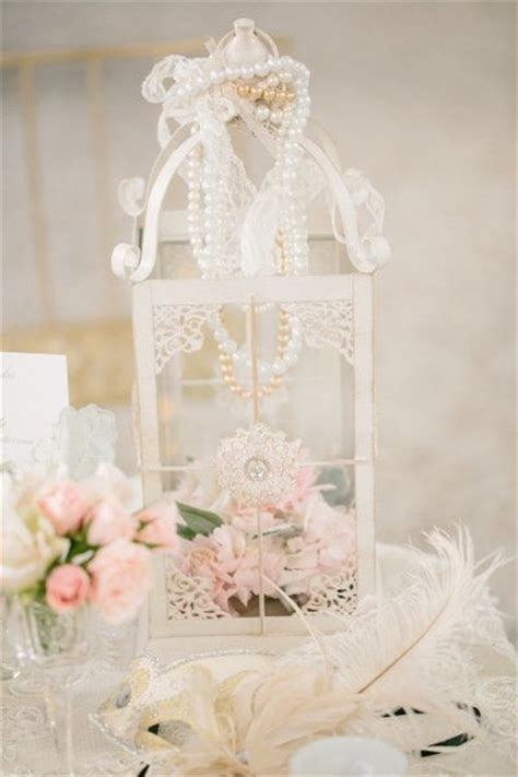 birdcage centerpieces for sale 35 vintage wedding ideas with pearl details tulle