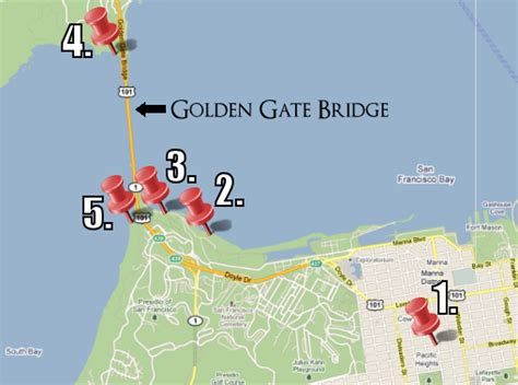 san francisco bridges map striving after wind 187 archive 187 photos of the golden gate