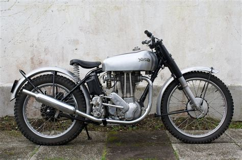 Classic Motorrad by A Beautiful Pre Production1948 500t Trials Norton From