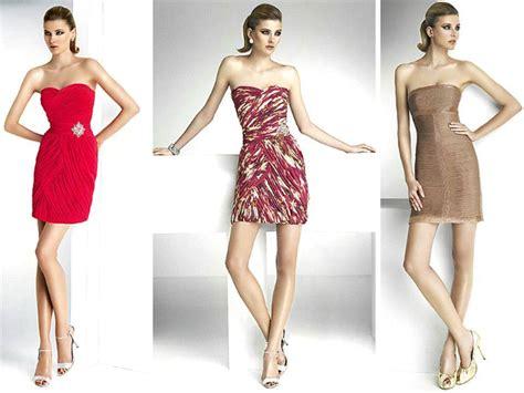 modern bridesmaid dress styles short strapless herve