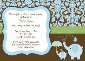 it s a boy invitations