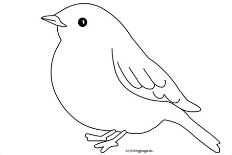 printable bird template bird outline printable