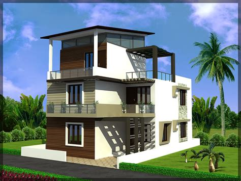 triplex house plans triplex house plan in 33 215 50 sq ft ghar planner