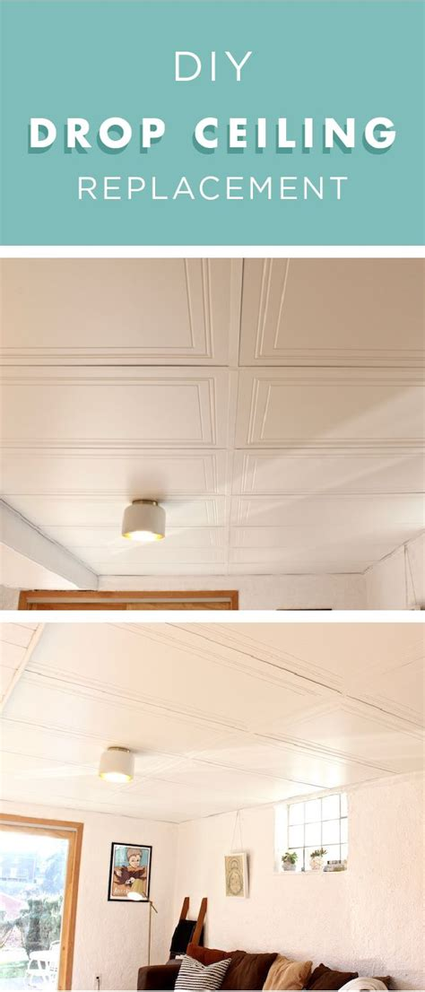 Drop Ceiling Replacement Panels Top Cheap Ceiling Tiles Easy Direct Mount Ceiling