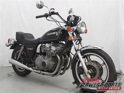 1981 Suzuki Gs750 Buy 1981 Suzuki Gs750l Gs750 Gs 750 On 2040 Motos