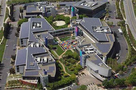 google complex google goes green er inhabitat sustainable design