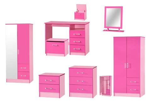 Pink High Gloss Wardrobe marina pink high gloss bedroom furniture sets wardrobe