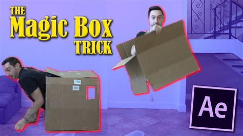 tutorial after effect zach king zach king magic box trick effect advanced tutorial after