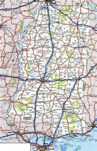 Ms State Map by Large Detailed Roads And Highways Map Of Mississippi State