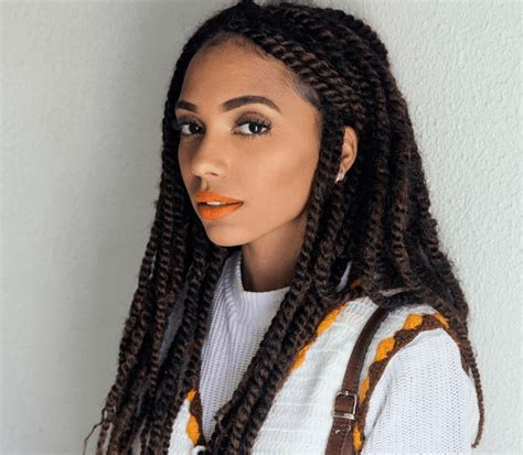 different types of marley hair braided hairstyles for black women looks you need to try