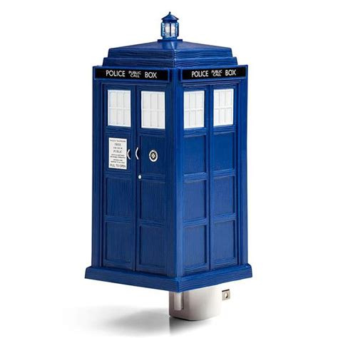 The Doctor Who Tardis Night Light Gadgetsin Tardis Lights