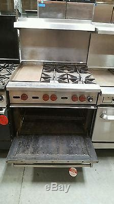 Wolf Drop In Cooktop - 36 wolf range stove 4 burner with 12 inch standard oven