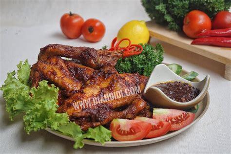 Panggangan Muter diah didi s kitchen ayam panggang pedas manis