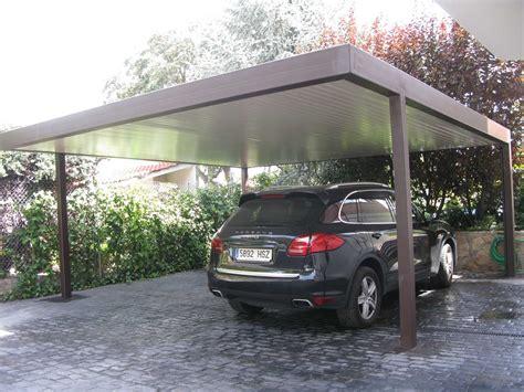 garajes para coches garajes exteriores para coches trendy marquesina teja