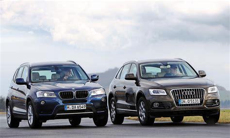 Vergleich Audi Q5 Bmw X3 by Vergleich Suv Audi Q5 2 0 Tdi Quattro Gegen Bmw X3