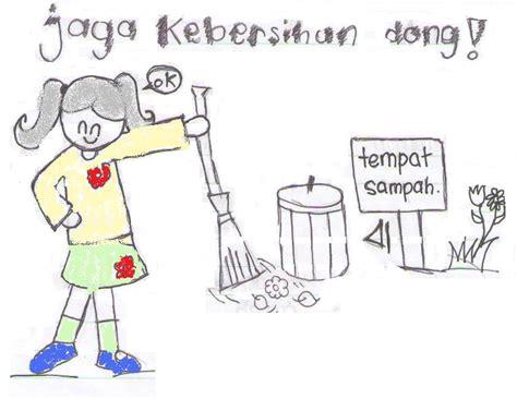 gambar kebersihan lingkungan jagalah kebersihan ninnameong