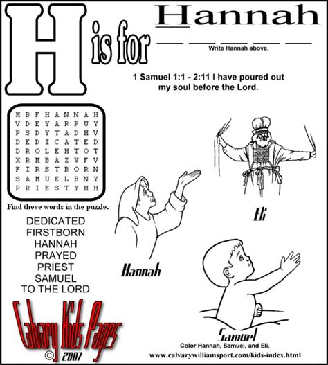 free coloring page hannah and samuel 70 best images about bible samuel on pinterest