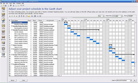 free excel project schedule template all templates project plan template