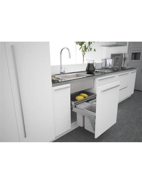sink at the door sige 600mm kitchen sink waste bin x3 containers