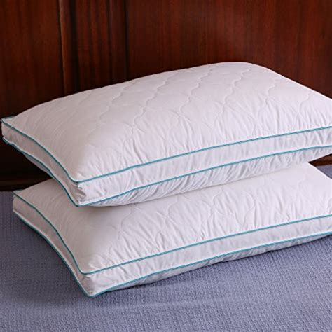 down bed pillows down and feather pillow bed pillows double layered fabric