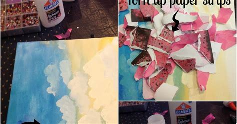 Collagen Wardah diy paper collage painting best of wardah