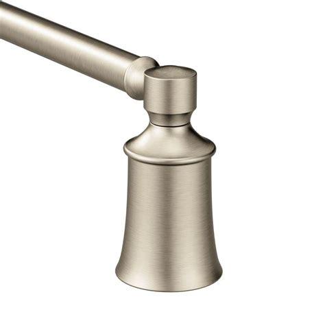moen brantford 24 in towel bar in brushed nickel yb2224bn