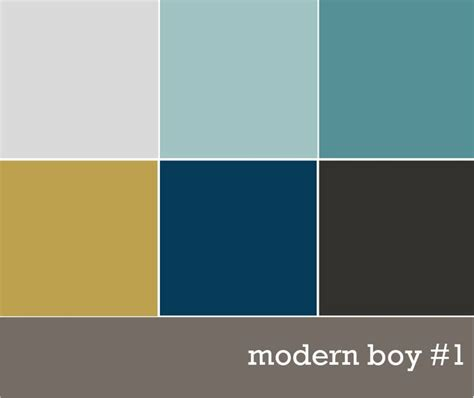 boy color modern boys color palette magazine color