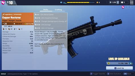Nocturno Legendary Weapon Review!   Fortnite   YouTube