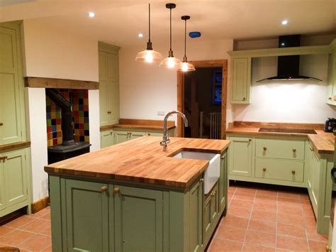 freestanding kitchen island unit kitchens distinctive country furniture limited makers