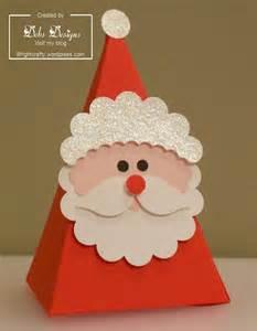santa cone gift box wrightcrafty