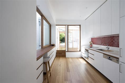 housing renovation a narrow house renovation in sydney for two retired teachers