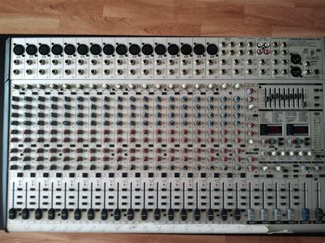 Mixer Behringer Sl2442fx Pro behringer eurodesk sl2442fx pro image 417642 audiofanzine