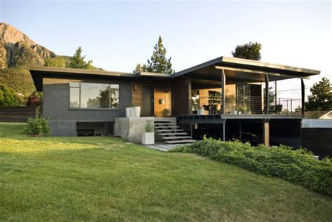 utah modern homes for sale dark walnut makes it