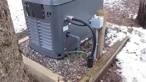 17 kw honeywell automatic standby generator quot exercising