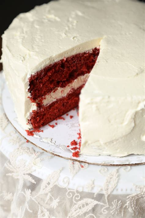 Redvelved Original velvet cake with boiled frosting popsugar food