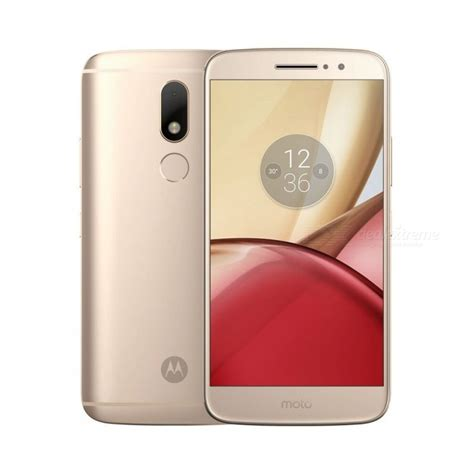 Android Ram 4gb Termurah motorola moto m android 6 0 smartphone w 4gb ram 32gb rom golden free shipping dealextreme