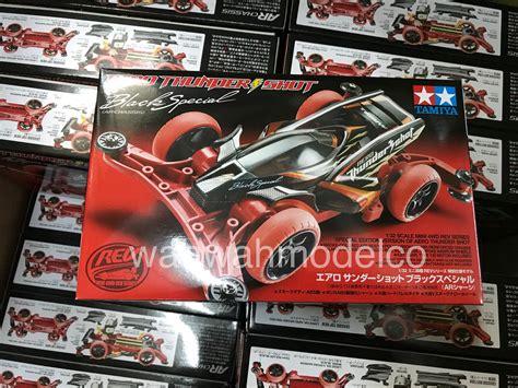 tamiya 95286 mini 4wd aero thunder black special ar chassis 1 32