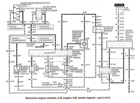 1993 ford ranger 2 3l engine diagram wiring diagrams
