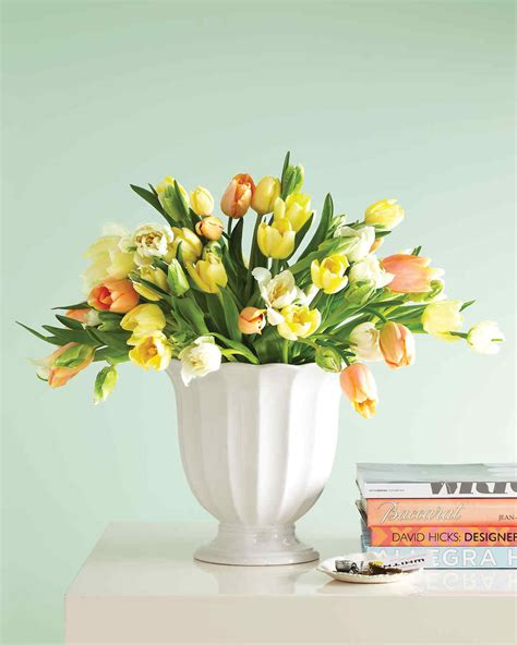tulips arrangements tulip arrangements martha stewart