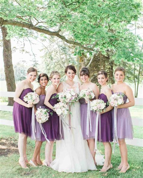 Bridesmaid Wedding Dresses by Bridesmaids Martha Stewart Weddings
